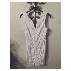 Lilly Pulitzer White Dress